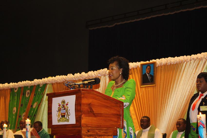 Malawi's First Lady Salutes Catholic Women
