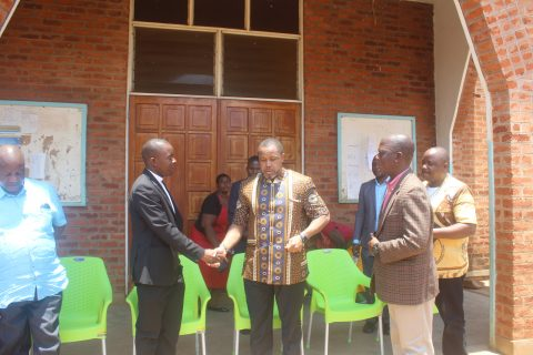 Chilima preaches Bible at Police headquarters